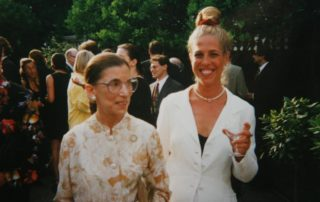 Queens Civil Rights Lawyer Alyce B. Wittenstein, Esq. with Supreme Court Justice Ruth Bader Ginsburg