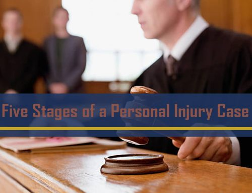 Five Stages of a Personal Injury Case